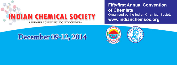Meet us at the fiftyfirst Annual Convention of Chemists at the Kurkukshetra University in India