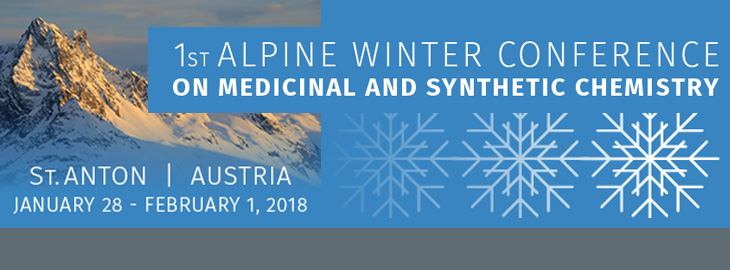 January 28 - February 1, 2018 1st Alpine Winter MedChem Conference, St. Anton, Austria