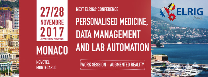 Meet us at the ELRIG.FR Conference in Monte Carlo (Monaco) on November 27-28th