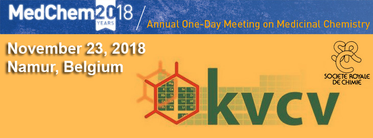 November 23, 2018 MedChem 2018 - New Avenues in Kinase Drug Discovery, Namur, Belgium