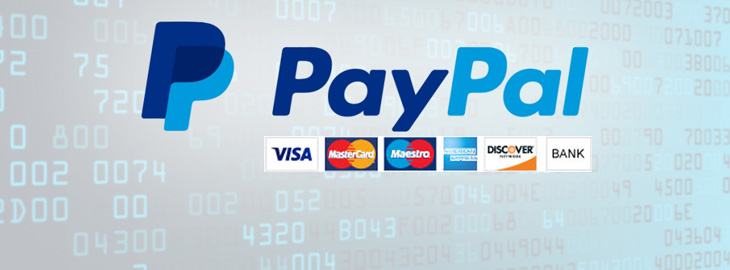 Payments through PayPal supported at Specs.net for more convenience