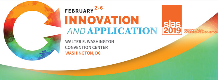Meet us at the SLAS2019 in Washington on 2-6th of February at the Walter E. Washington Convention Centre, USA