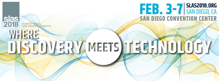 Meet us at the SLAS2018 in San Diego on 3-7th of February at the San Diego Convention Centre, USA