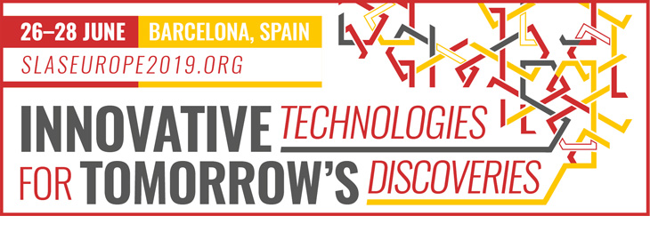 Meet us at the SLAS Europe 2019 conference - Innovative Technologies for tomorrows discoveries in Barcelona, Spain