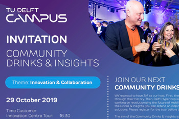 October 29th, 2019 TU Delft Campus: Innovation and Collaboration, Delft, The Netherlands